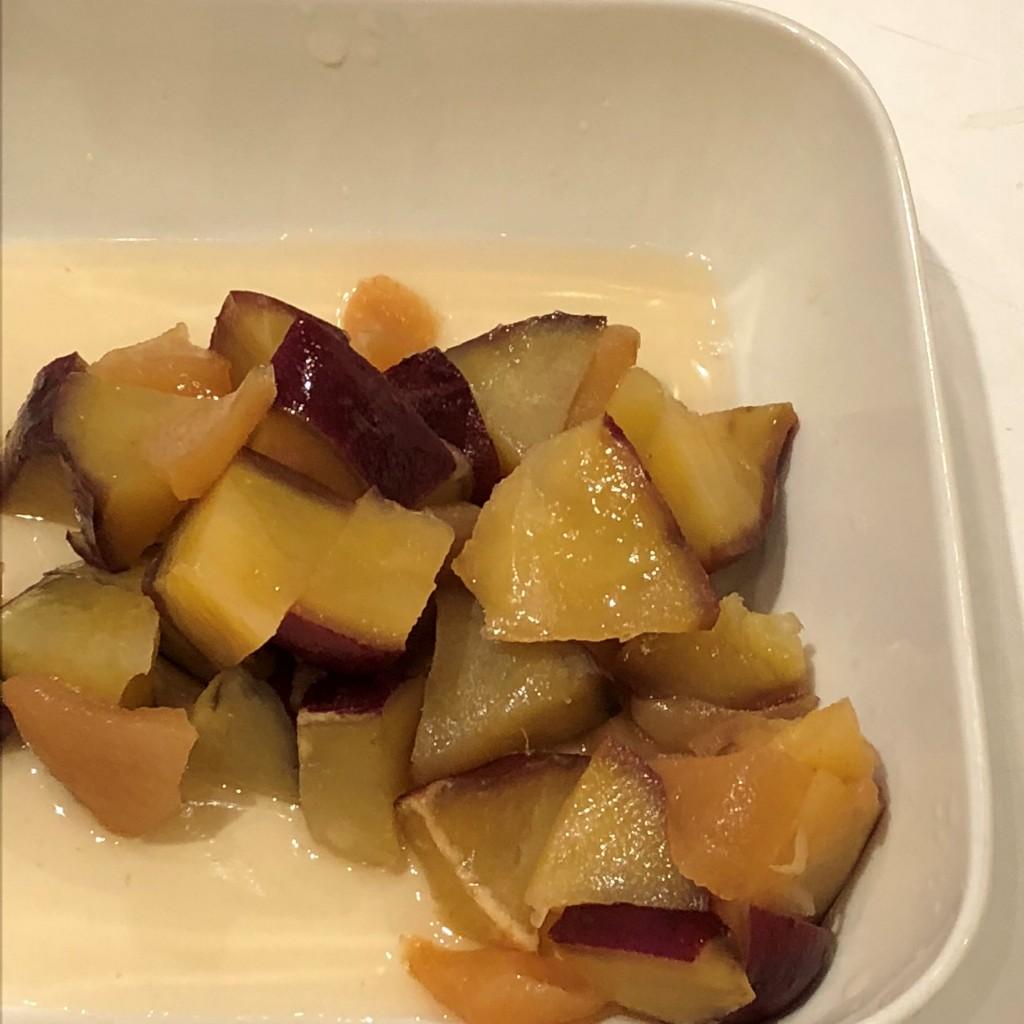 おいしいサツマイモ